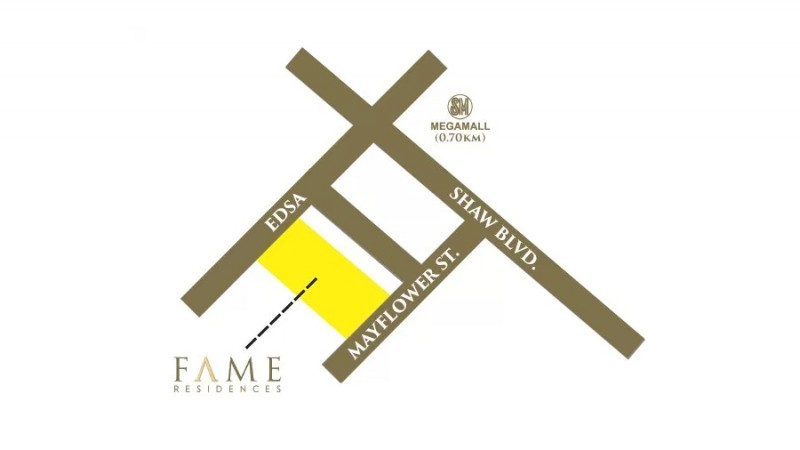 Fame Location Map