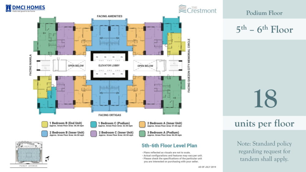 The Crestmont Floorplan